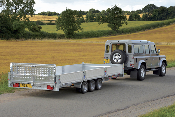 CarGO Tiltbed - Low and light galvanised chassis with 5 year warranty.
