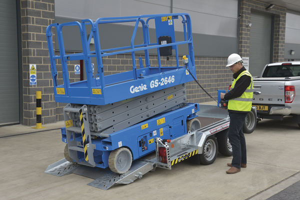CarGO All Plant Tiltbed - Perfect for low, heavy and difficult plant machinery.
