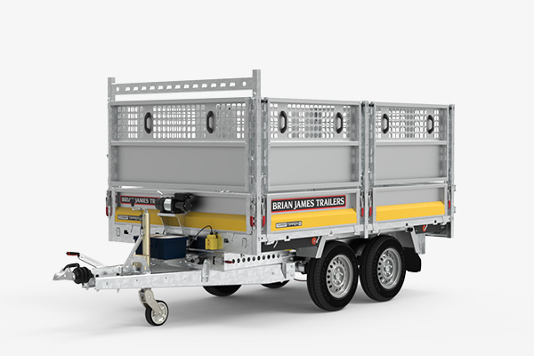 CarGO Tipper2 with panel extensions and ladder rack