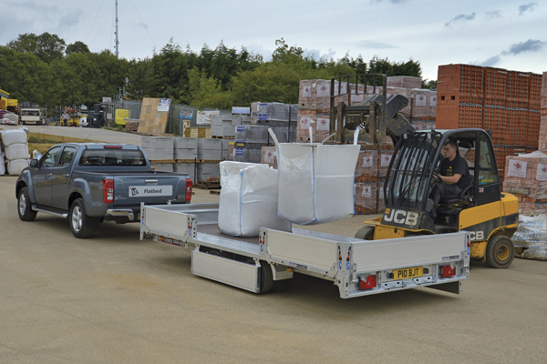 CarGO Flatbed - Flexible combination of width and length options available.