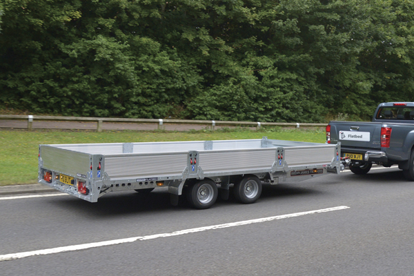 CarGO Flatbed - Low centre of gravity for improved stability.